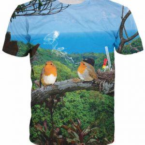 2 Birds 1 Stoned T-Shirt