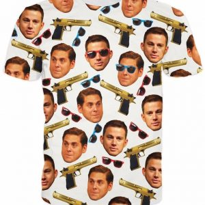 21 Jump Street T-Shirt All Over Print T Shirt Tee