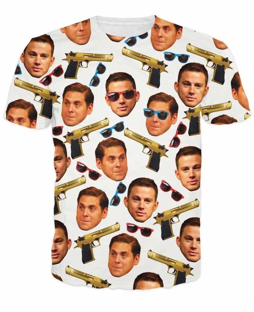 21 Jump Street T-Shirt All Over Print T Shirt Tee