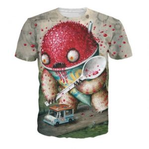 Abominable Snowcone T-Shirt All Over Print