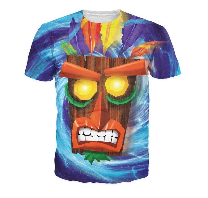 Aku Aku T-Shirt all over print